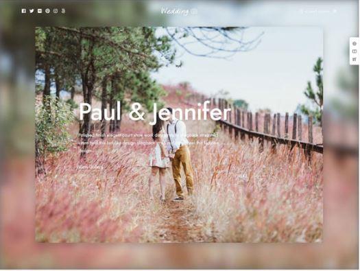 Framed. - theme wordpress chụp ảnh cưới ấn tượng