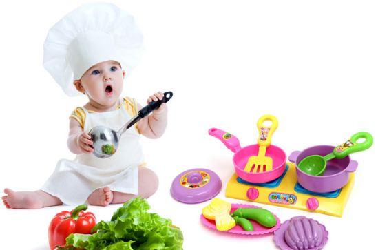 Chuẩn bị đồ chơi cho trẻ