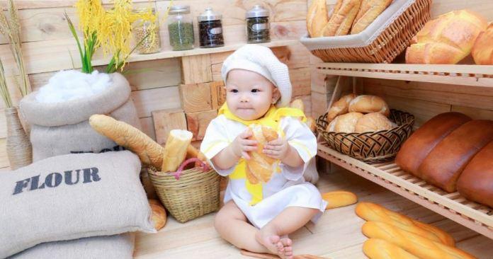 Chuẩn bị trang phục khi chụp hình cho bé
