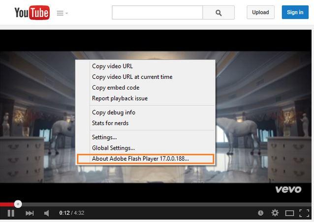 Nhúng video HTML qua Flash Player