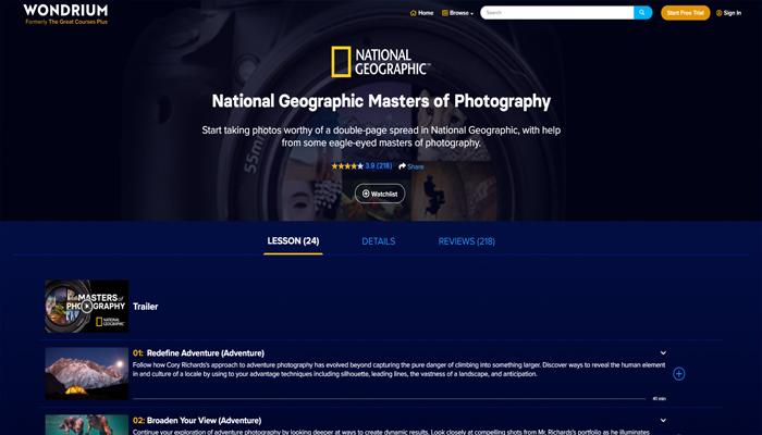 Khóa học chụp ảnh chuyên nghiệp online - Fundamentals of Photography (John Greengo)