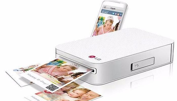 Máy in ảnh mini giá rẻ cho điện thoại - LG Pocket Photo